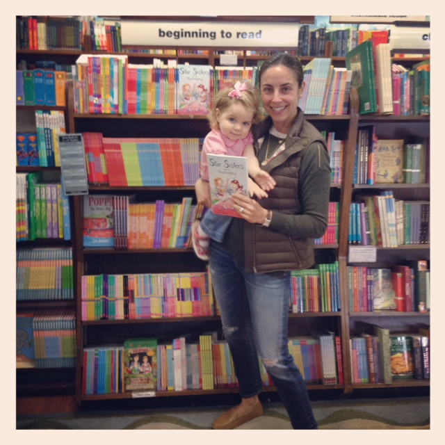 One of my favorite Instagram moments - the first time I saw my books on the shelf!