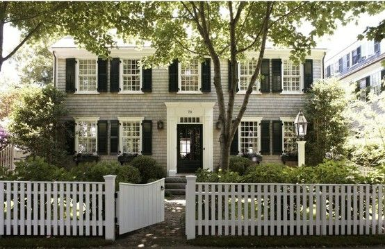 My dream suburban home.  Via Pinterest.