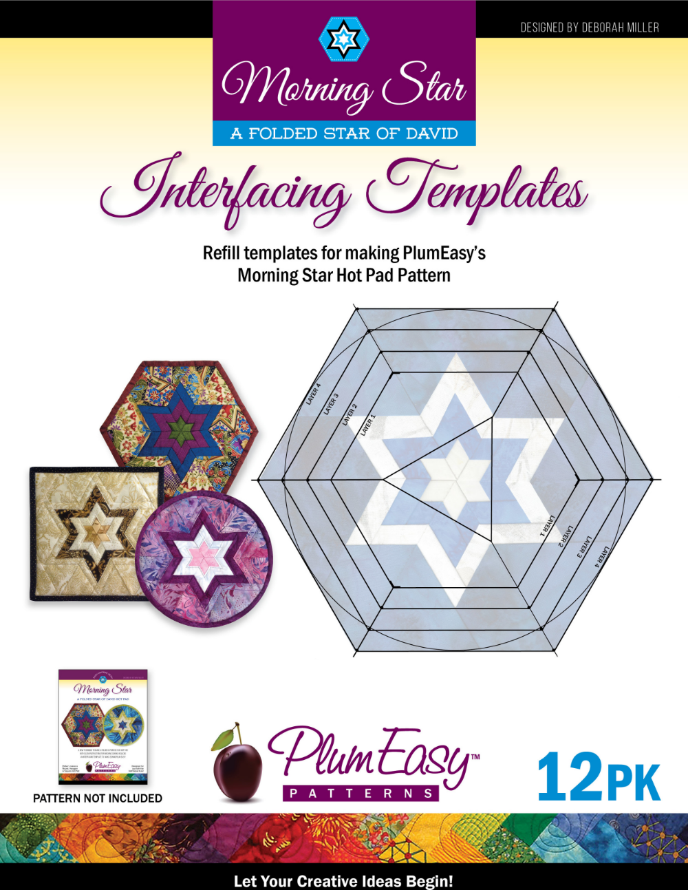 Morning Star Interfacing Templates