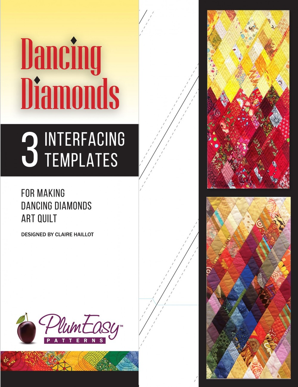 PEP-215 Dancing Diamonds Template 3-pack