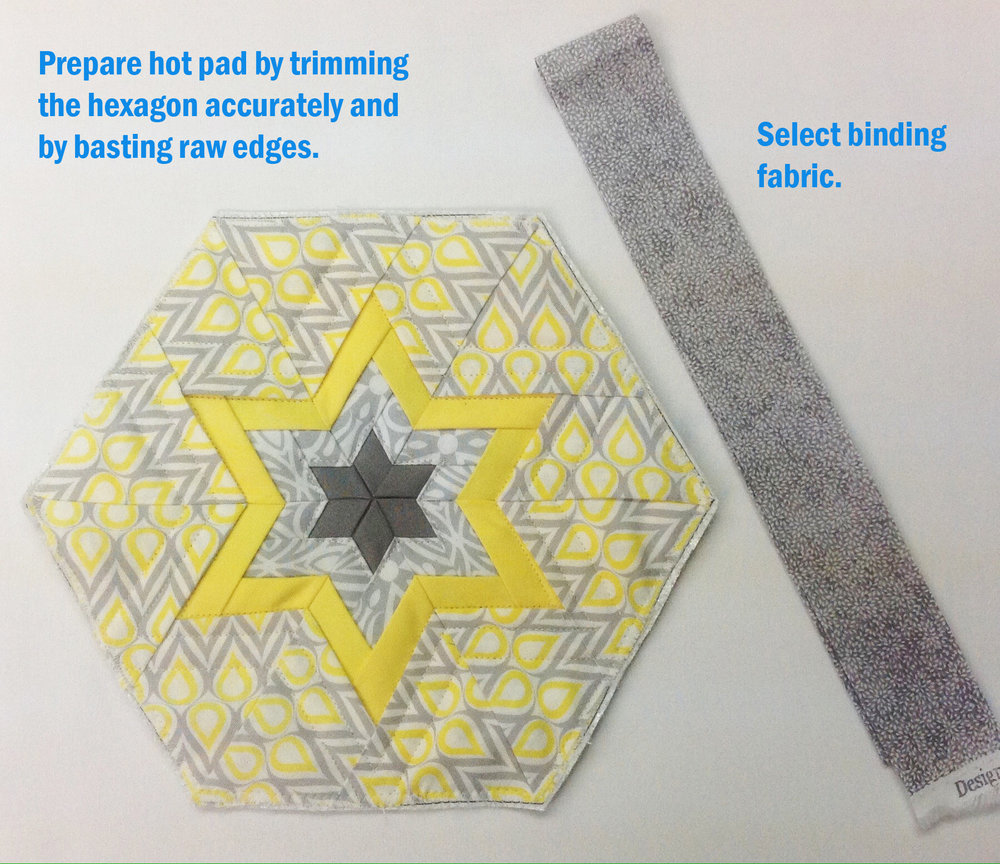 I made this Morning Star Hot Pad with the pattern by Bethany Miller.
