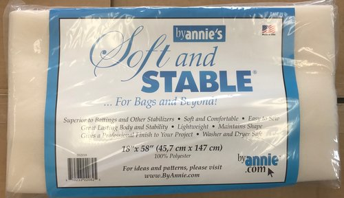 ByAnnie's Soft and Stable 18inx58in Black