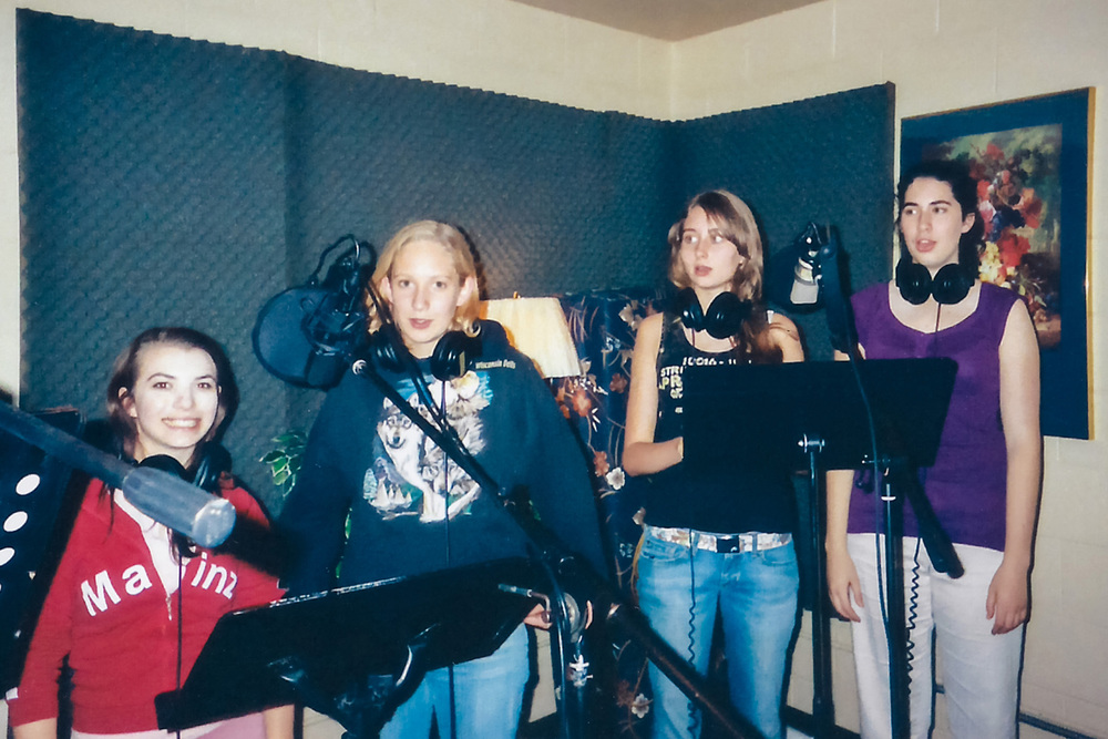 During the recording session for  Oh Cómo Anhelo