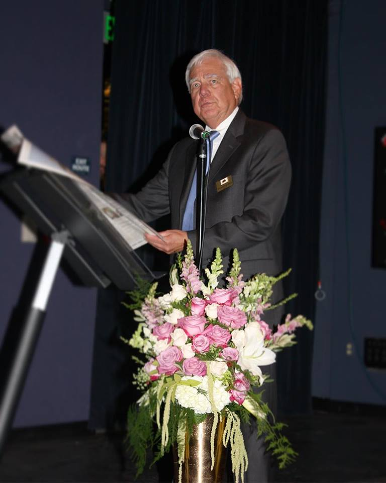 William D. Koehler, Mayor of Agoura Hills, spoke at the event.