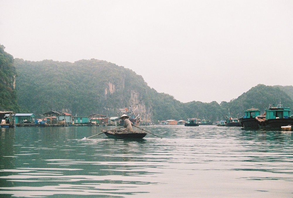 Floating fishing villages