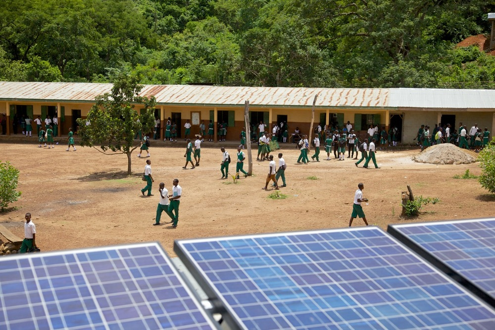 Solar Panels on Loma School | Credit: IBIS