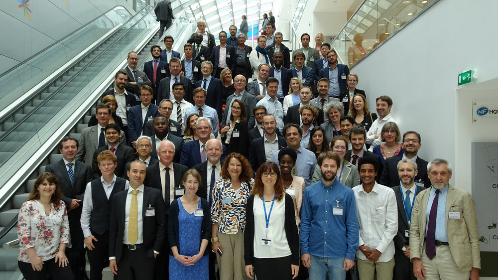 Energy access practitioners at a Mission Innovation event hosted by the International Energy Agency (IEA) in Paris.