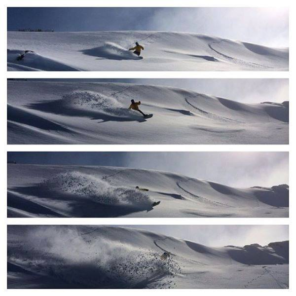 "Matt rides Falls Creek  and made the mission up, looks like it was worth it - ""Best inbounds pow slash I've ever had in Australia and the snow was over a week old.... @thredboresort is sick. Reminds me of home.  #thredbo   #ilikeit"
