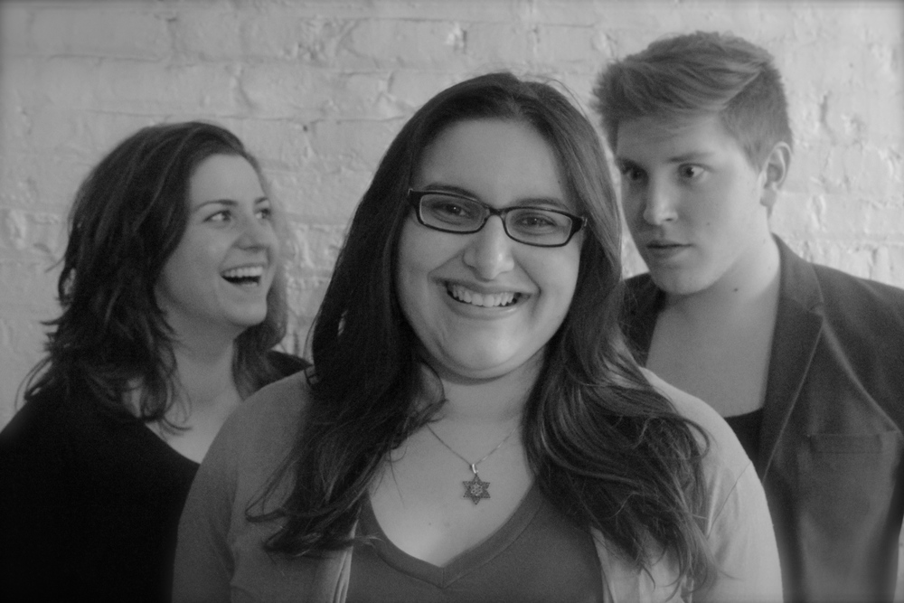 Producing Director Danielle Stack, Artistic Director Julia Rohed and Associate Artistic Director Jake L Fruend
