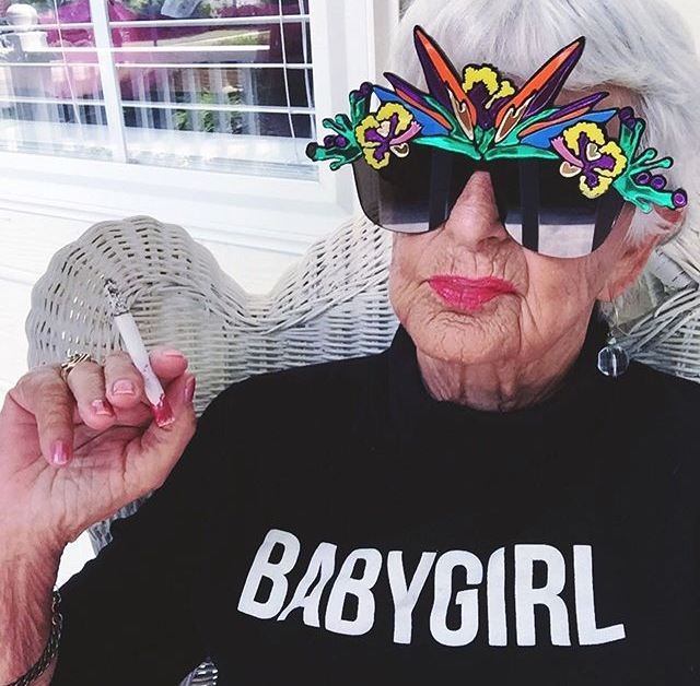 @baddiewinkle all day, every day.