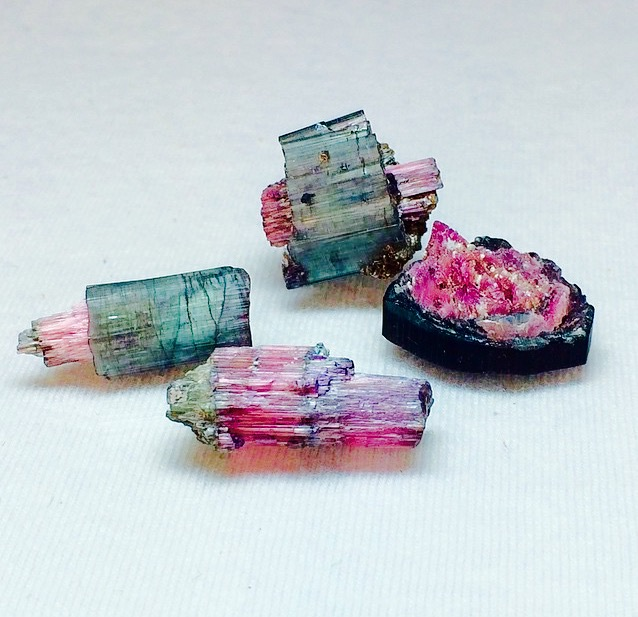 One of my all time favorite stones: Watermelon Tourmaline!  @pieceofminedminerals