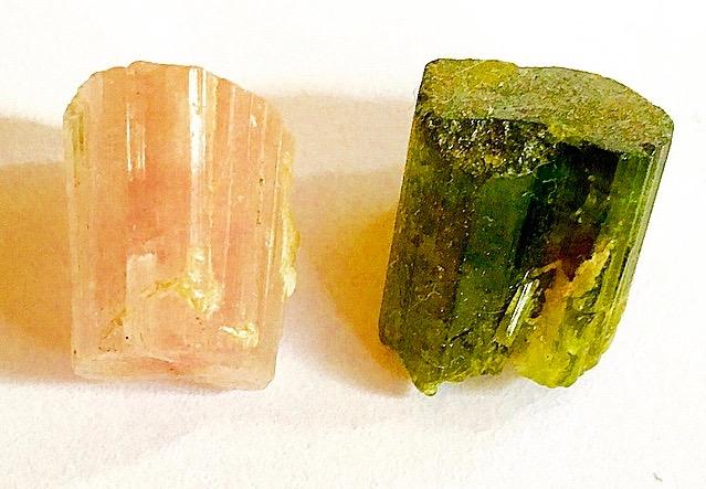 Pink & Green Tourmaline