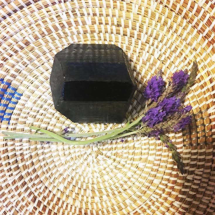 :: Lavender + Black Tourmaline ::