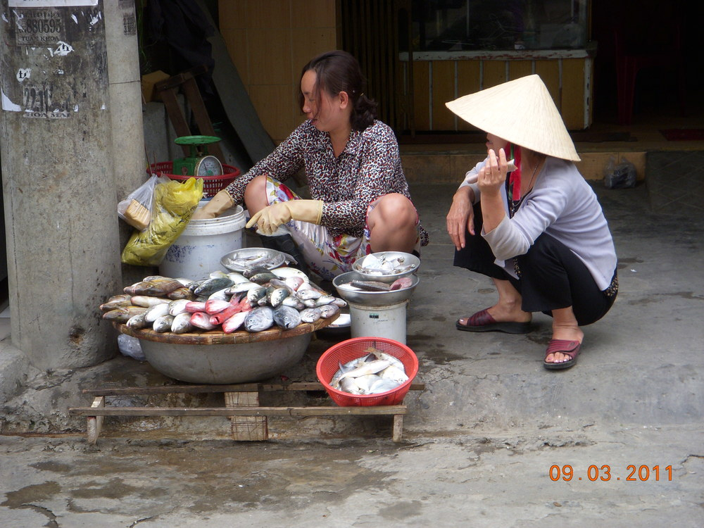 Street Vender in Vietnam