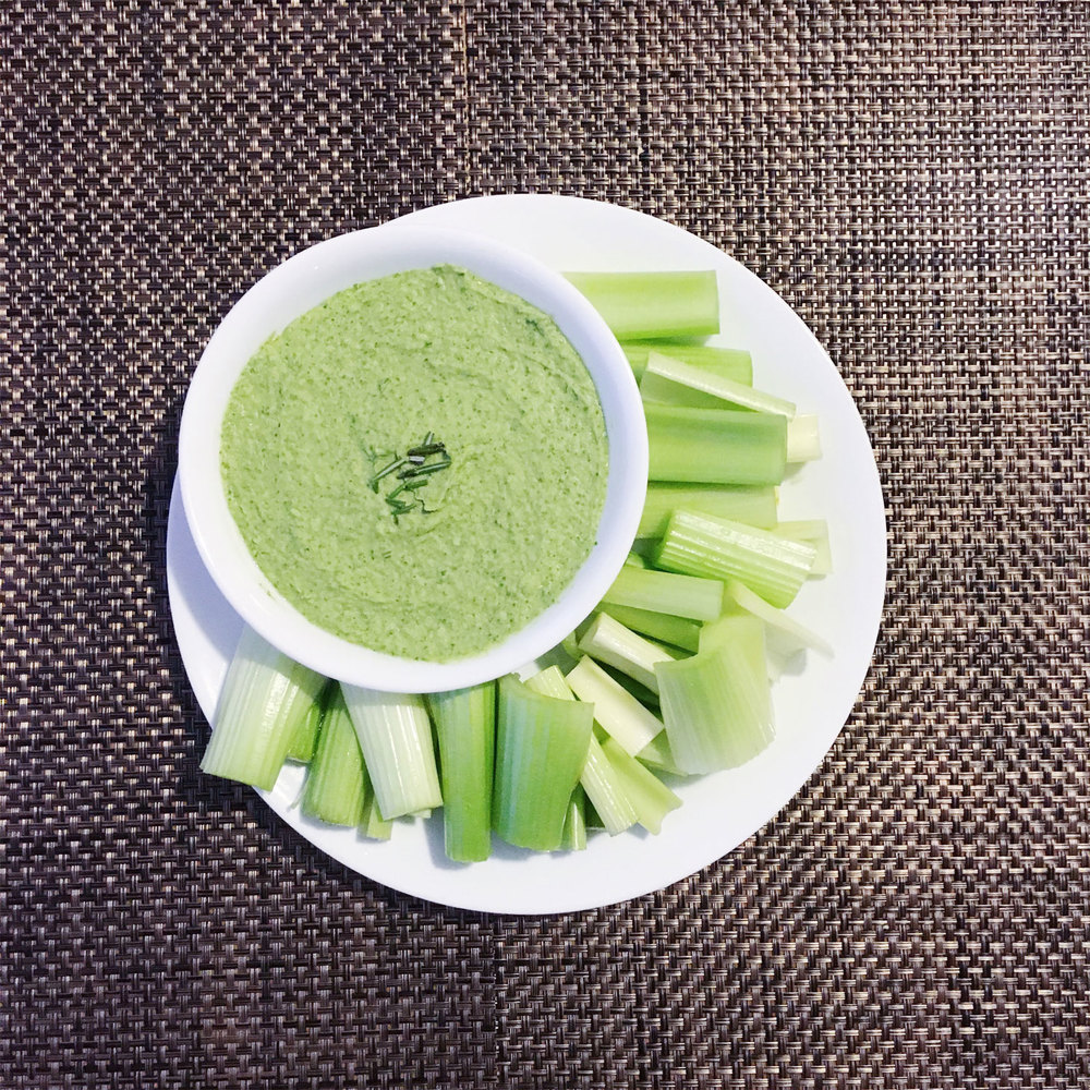 Don't forget about celery - the crunchy bites appeal to your senses, and when you use homemade dips, you control the ingredients and nutritional value. If you don't have time to make your own dip, grab hummus at the store. Be sure to check that the ingredients are safe for you.
