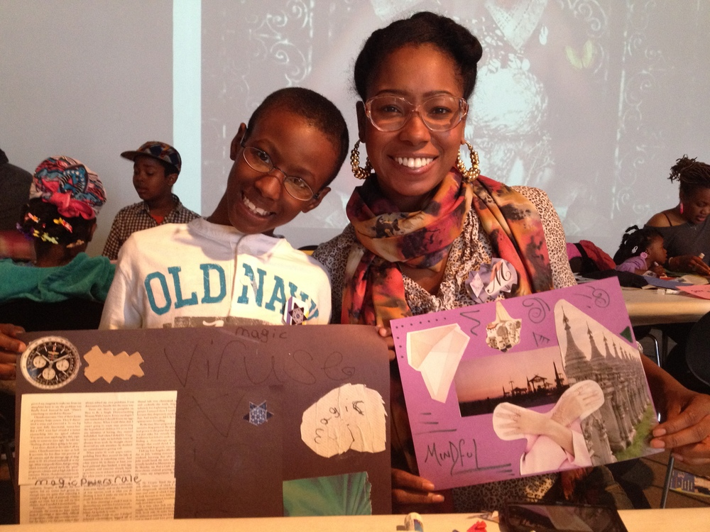 AFROTOPIA Family Day at the Museum of Contemporary Art Detroit, Spring 2014