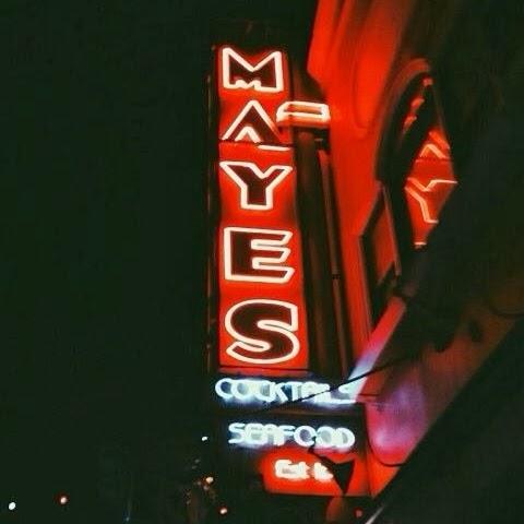 Location: Mayes Bar -1233 Polk st (Bush)    Date:May 31st 2014