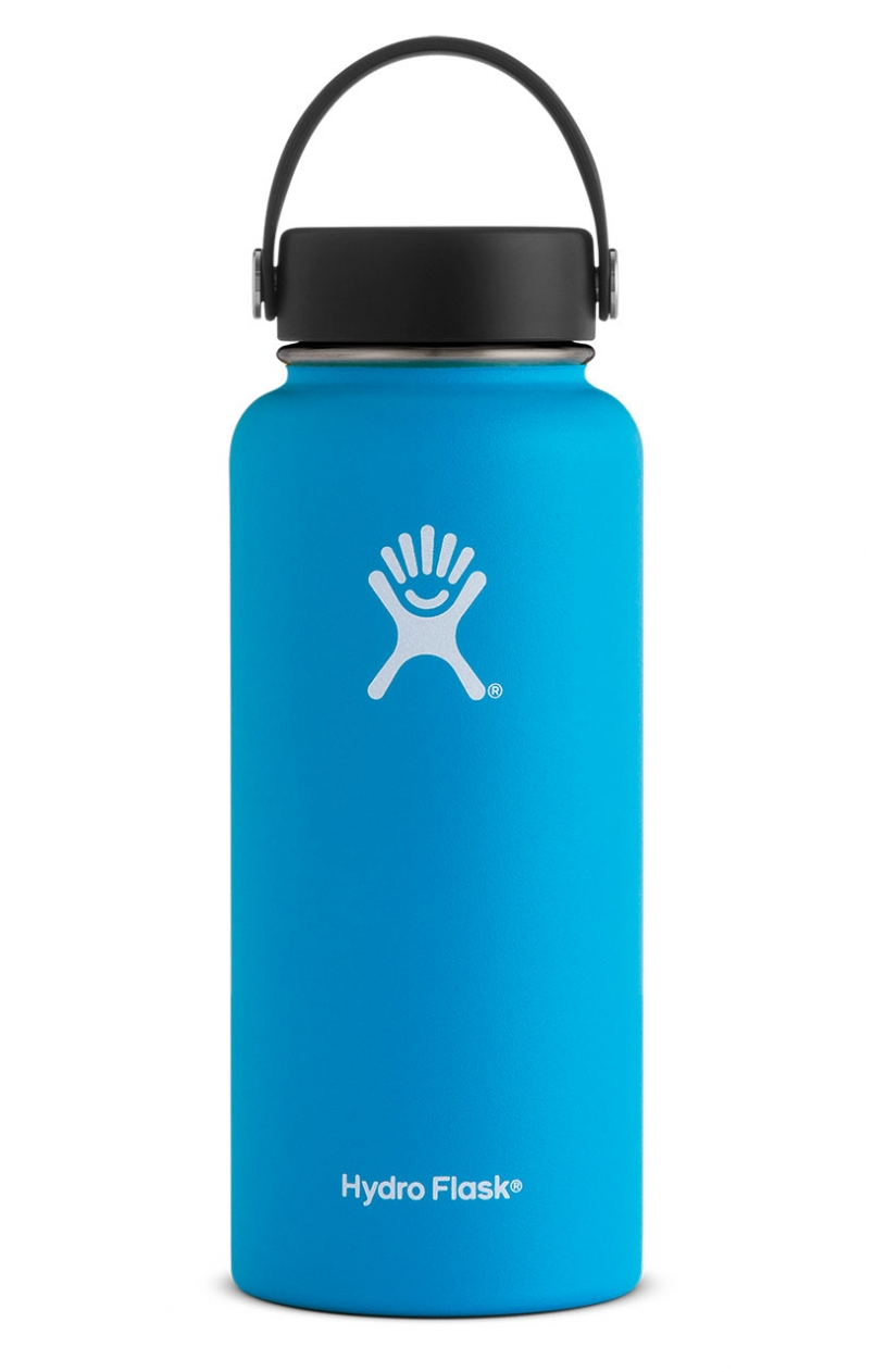 Water Bottle - I have tried them all, and the Hydroflask keep smy cold water cold while being extra-durable and colourful!