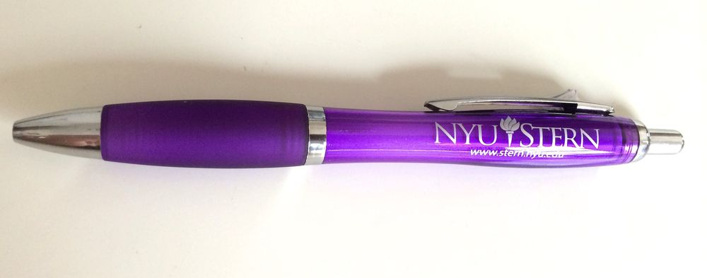 For reference, I have nothing against NYU. In fact, I'm grateful...they gave me this pen ;)