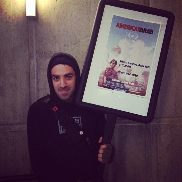 Wisam Alshaibi at the University of Boulder Screening