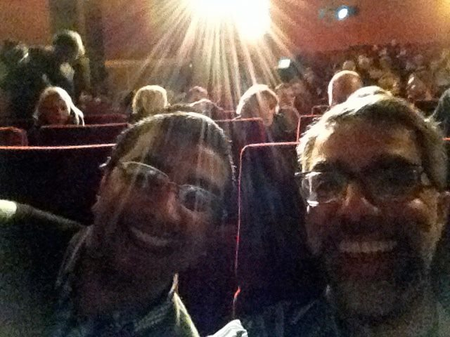 Director/ Producer Usama Alshaibi with Cinematographer Dinesh Das Sabu