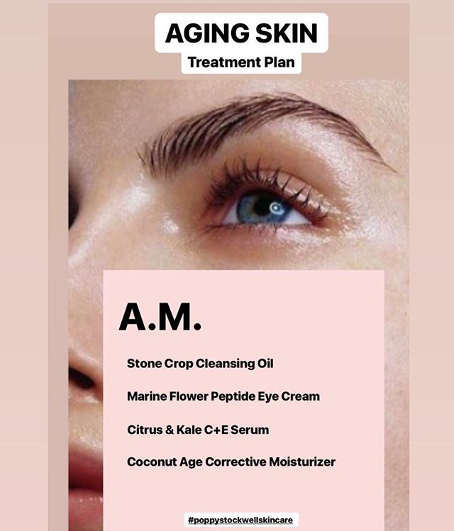 Excited to kick off the new #TreatmentPlan series to bring you expert advise on the products and treatments that are best for your skin type. Click the link in bio to shop products and comment below with additional questions 👇🏼 #glowgetter #poppystockwellskincare #antiaging