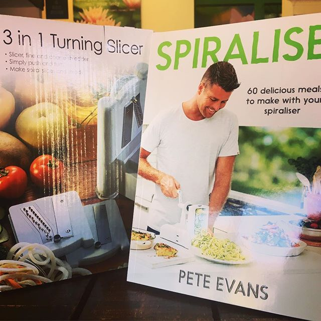 Have you felt the need to shift to really light, fresh meals in this hot weather?! Our vegetable spiralisers are high quality- the chefs use them everyday in our kitchen! Grab some recipe inspo by @chefpeteevans too! . . #peteevans#spiralise#spiraliser#fresh#summer#wholefoods#vegetables#paleo#healthy