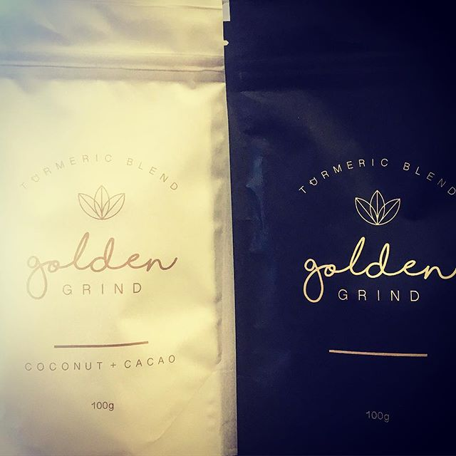 The turmeric blend by @_goldengrind_ just got even better. NEW INSTORE - coconut and cacao. 👏🏼💕 . #goldengrind#tumeric#goldenlatte#goldenmylk#glutenfree#healthtonic#foodforlife