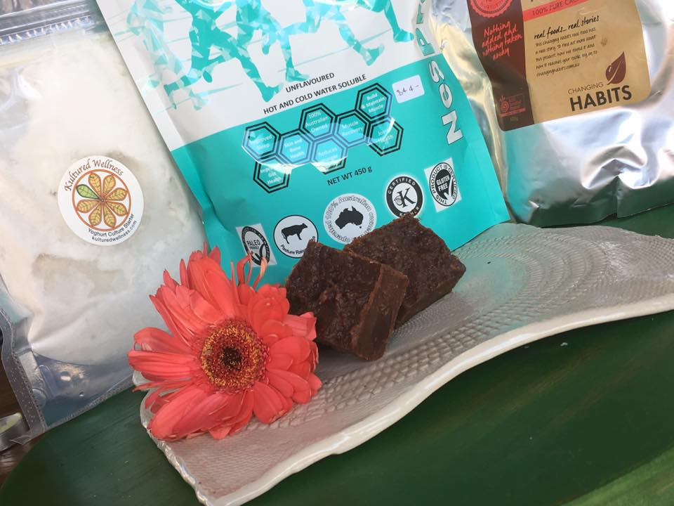 RAW FERMENTED CHOCOLATE BROWNIES