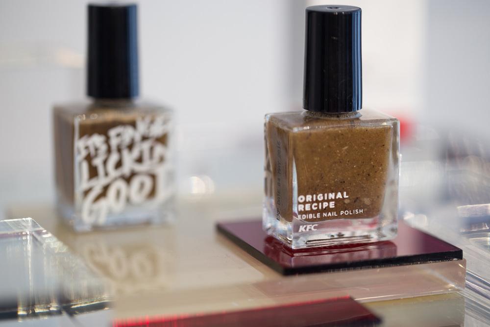 KFC edible nail polish — Elaine Li