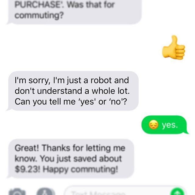 A.I. calling me out on my emoji bullshit