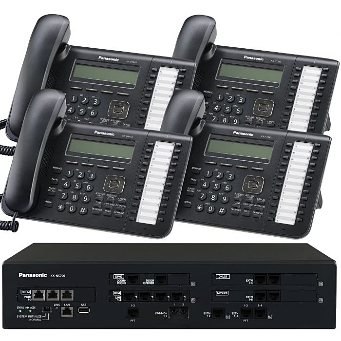 Starter Pack Ns 700 4 phones for 1997.00