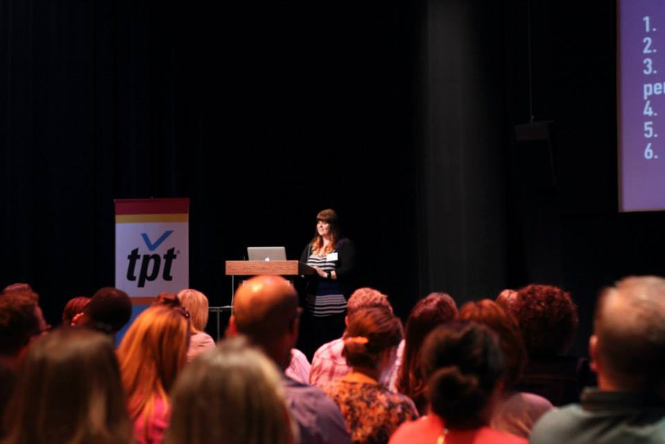 Speaking in St. Paul Minnesota at Social Media Breakfast - photo by Teresa Boardman