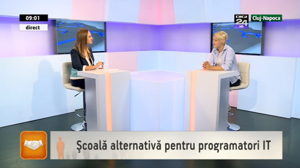 Digi TV - Scoala alternativa pentru programatori IT