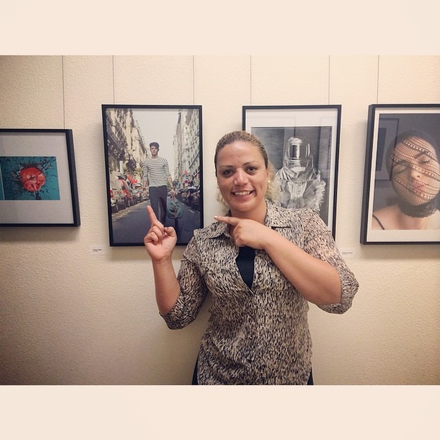 How awesome is to accidentally find one of my photos at the walls of Brooks Institute of Photography. Que legal que e encontrar a minha foto por acidente na parede da galeria do Brooks Institute #easysquare #fashion #paris #losangeles #gallery #art #surprise #vivianeteles #viviantelesphotography (at Brooks Institute of Photography)
