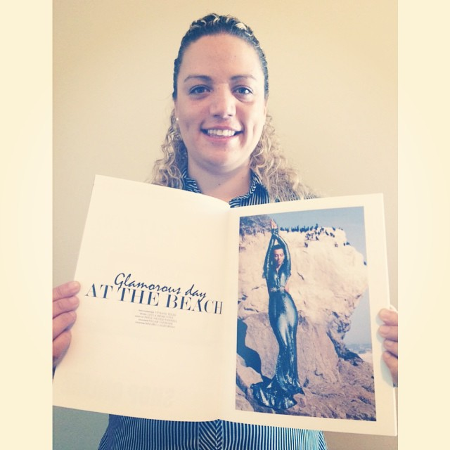 Just got in the mail this week the print magazine for our editorial on elegant magazine this past October issue 2014 :-) #magazine #published #fashion #losangeles #vivianeteles #elegant #elegantmag# tafreshi_fashion #paigenicoleart Acabei de receber a revista que está o nosso editorial para a revista elegante #revista #brasil #fashion #beauty #beautiful (at Malibu Beach - Pacific Coast Hwy. 1)