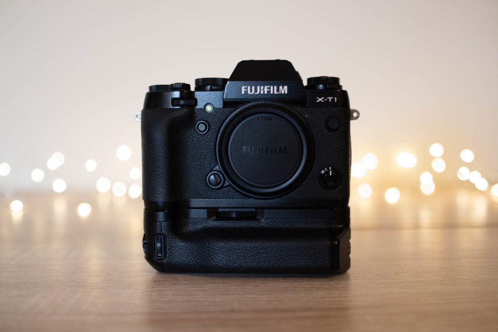 Fujifilm XT-1 with VG-XT1 Vertical Battery Grip