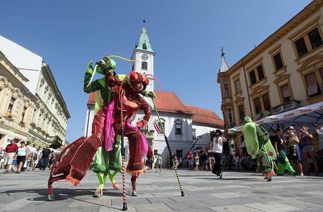 Varaždin during Špancirfest