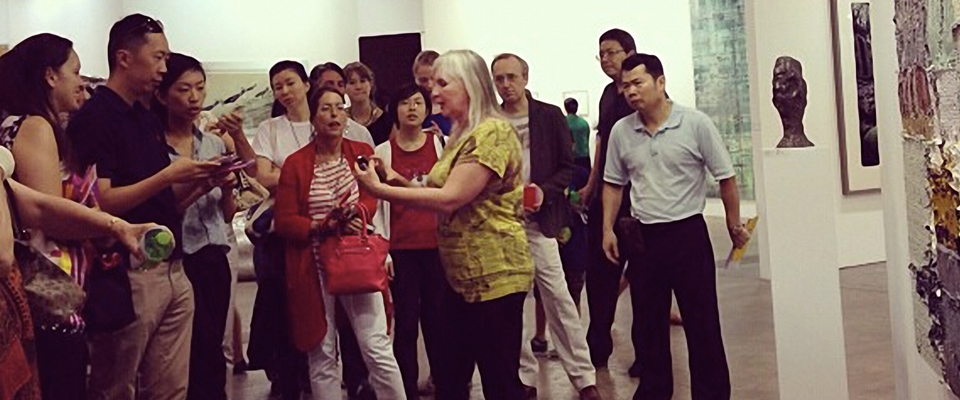 Jeannette ten Kate art basel art talk guided tour Asia Week Hong Kong 2014