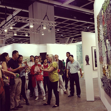 ART TOUR Guided Tour at Art Basel Hong Kong with Jeannette ten Kate of Sinopia