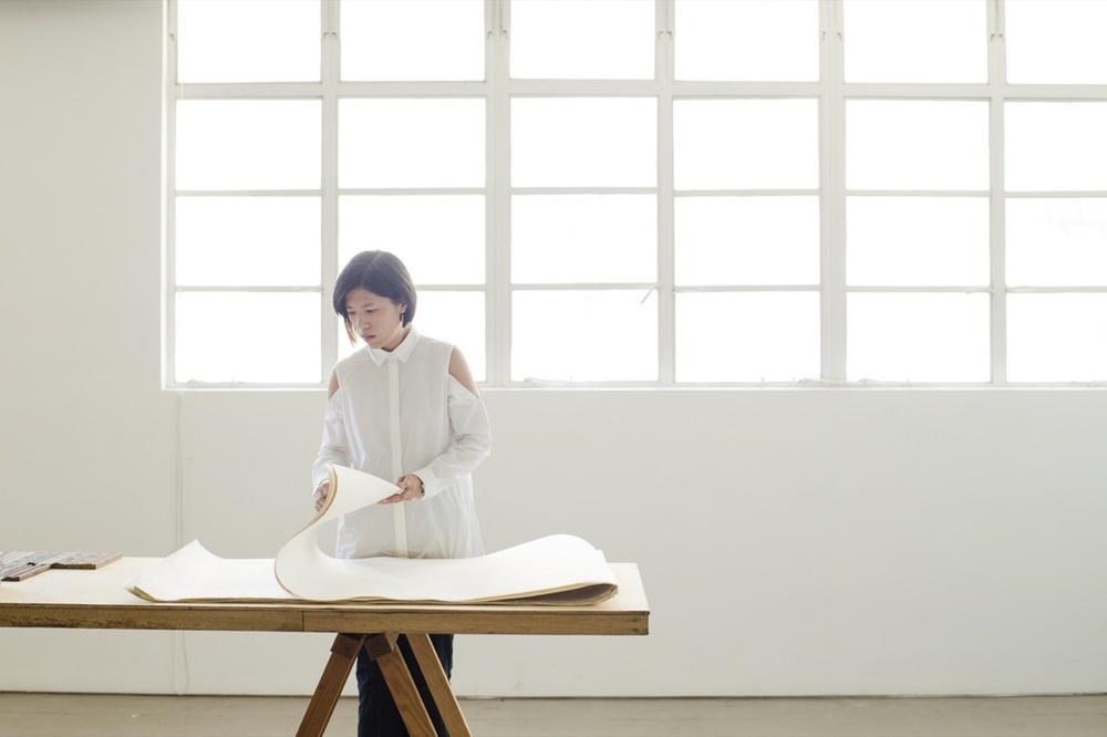 Portrait of Wong Wai Yin at Spring Workshop, Hong Kong, Image courtesy to Amanda Kho for Artsy.