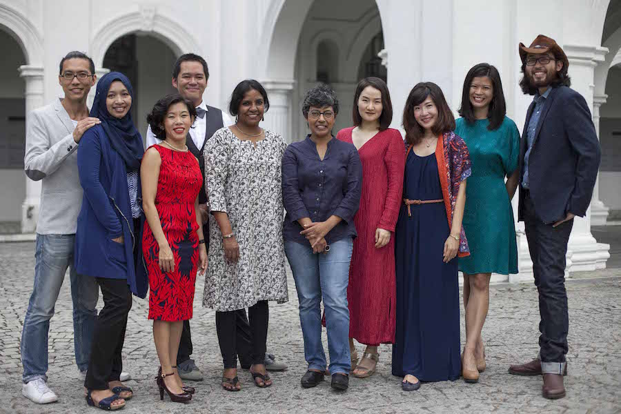 The Singapore Biennale 2016 Curatorial Team(Courtesy Singapore Art Museum)