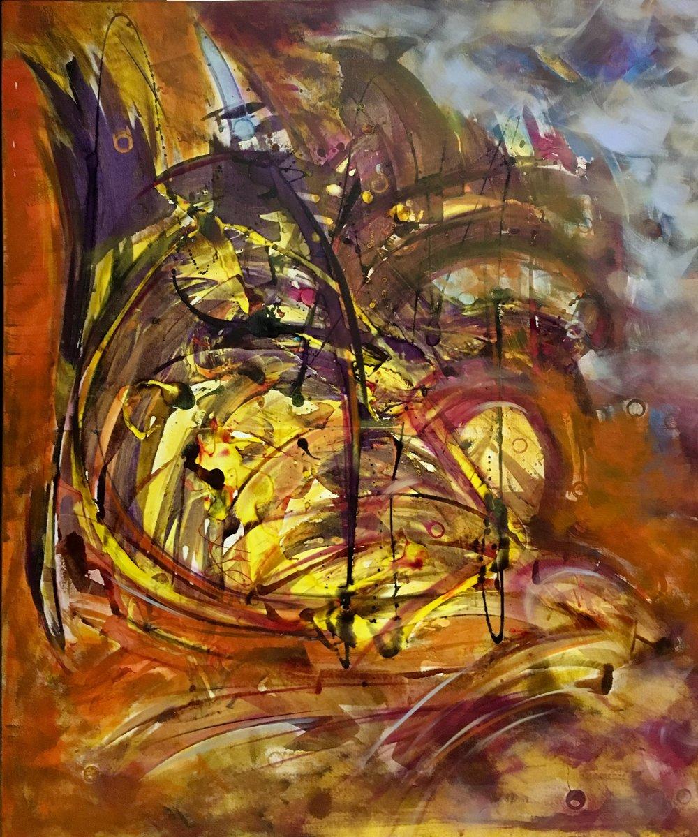 "Image:""Force"" by Lydia Moawad, Lebanon, Room 4110"