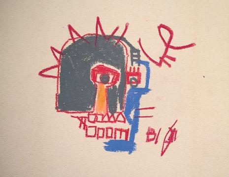 Jean-Michel Basquiat oil-stick  work.jpg