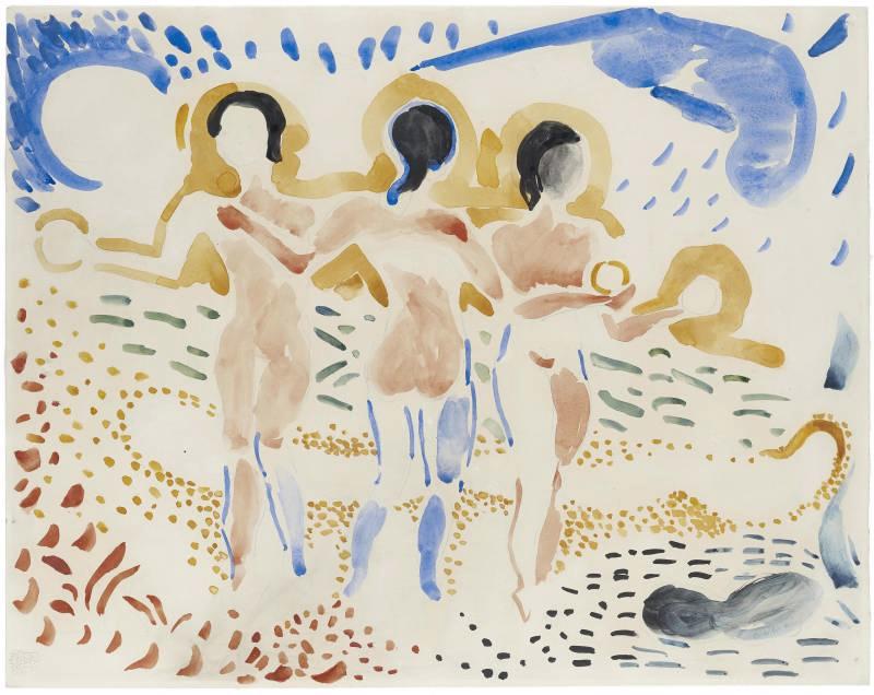 André Derain titled Les trois Grâces,1906.png