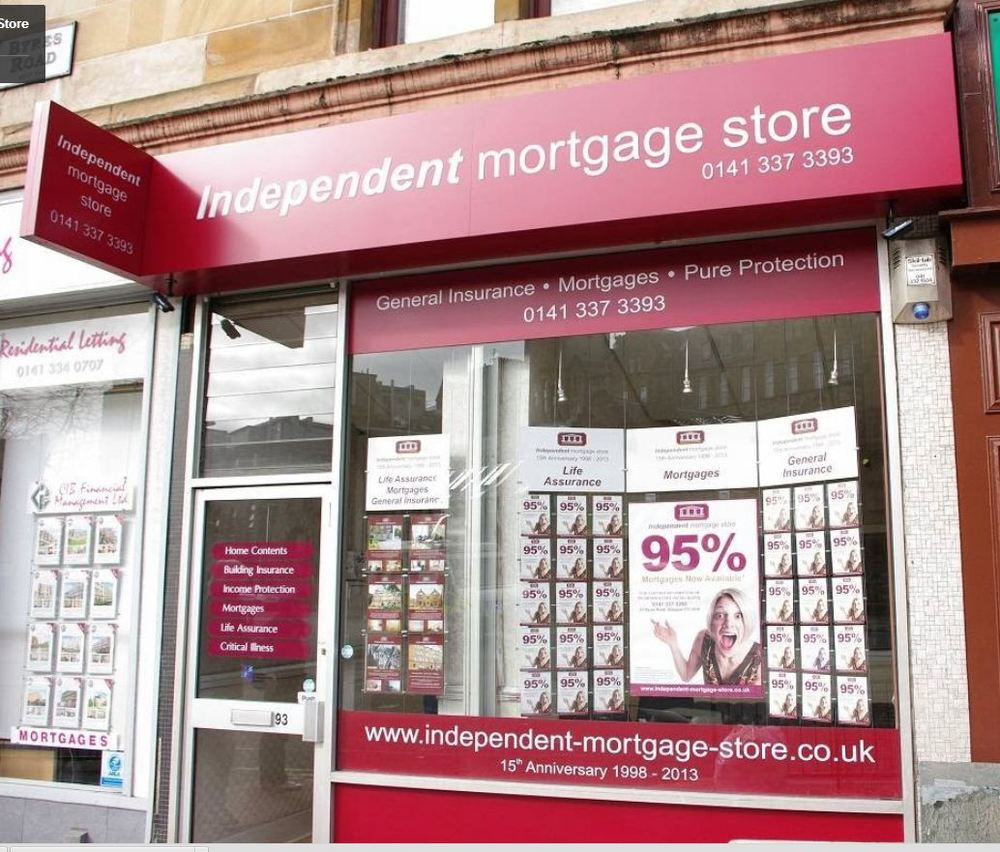 The INdependent Mortgage Store offers mortgage and insurance services