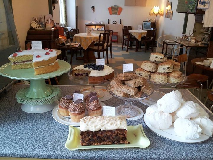 Samantha has a fantastic cake selection which is rotated daily