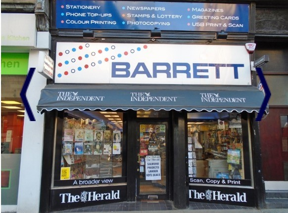 Barrett is an award winning newsagent