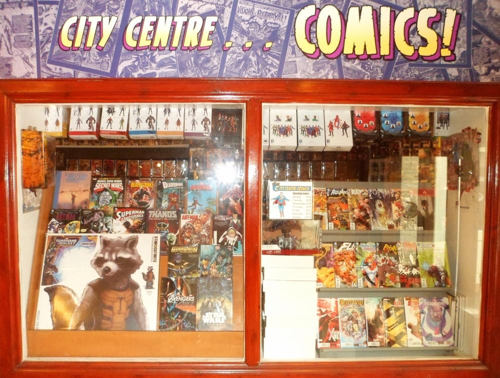 City Centre Comics is the West End's only comic shop