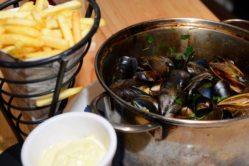 Brel's famous mussles. Photo by the restaurant